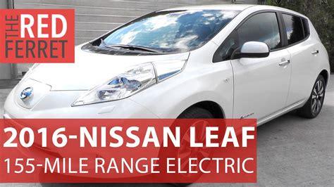 2016 Nissan Leaf 30kwh Extended Range