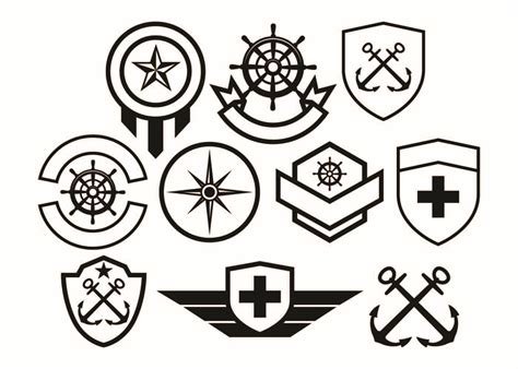 The scalable vector graphics (svg) converter let you convert from almost 130 input formats. Free Army Badge Collection Vector - Download Free Vectors ...