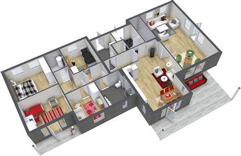 4 bedroom floor plan 4 bedroom floor plans roomsketcher