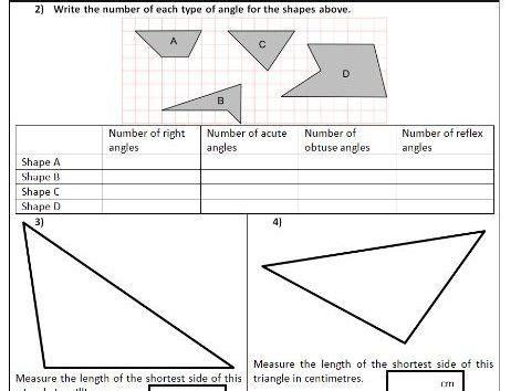 angles draw measure estimate compare ks2 year 5