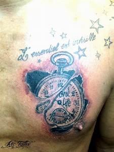 Tatouage Montre A Gousset Avant Bras : tattoo montre gousset ~ Carolinahurricanesstore.com Idées de Décoration