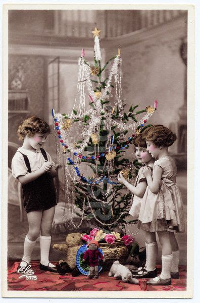 real photograph postcard from 1920 30s showing children at