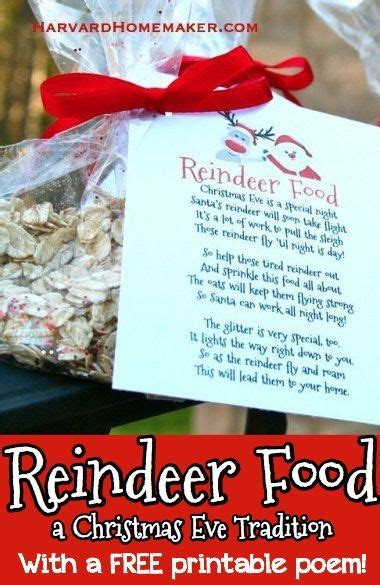harvard homemaker reindeer food class project 513 | 2e09028aa3059ea491ddec3461db11e2