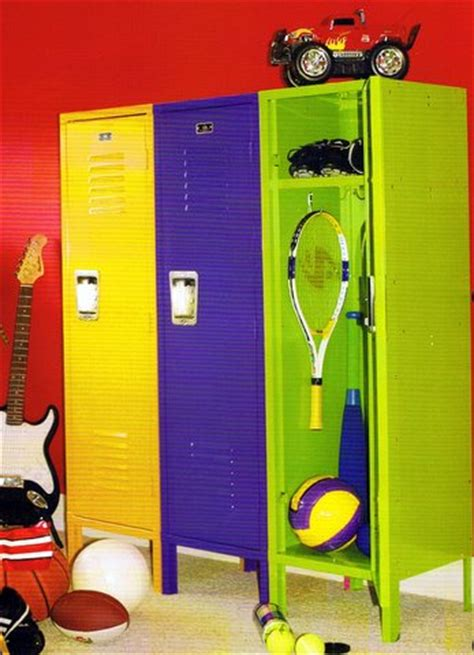 locker for bedroom lockers color children metal storage home locker 12146