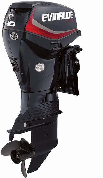 Evinrude Tec Hp 40 60 Inline Outboard