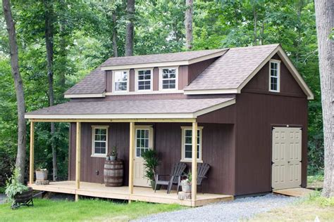 Two Storey Sheds by 14x24 2 Story Cottage Byler Barns