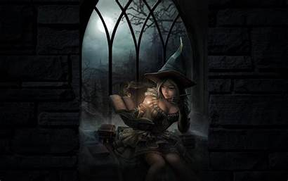 Witchy Witch Hearth Organized Wallpapers Stokes Anne