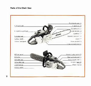 Stihl 032 Chainsaw Owners Manual