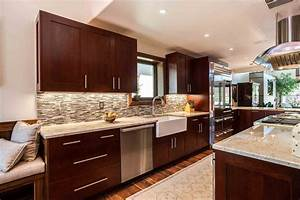 Transitional Cherry Kitchen in Cherry Creek