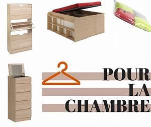 Rangement Pour Chambre : astuce rangement chambre diy rangement chambre fille ~ Premium-room.com Idées de Décoration