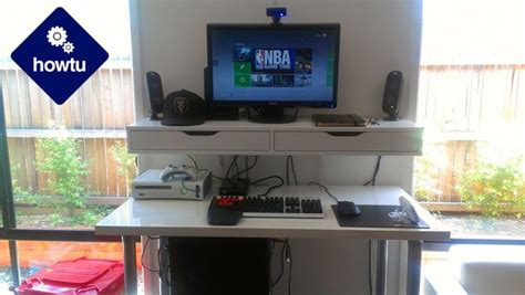 standing desk   build  healthier pc gaming