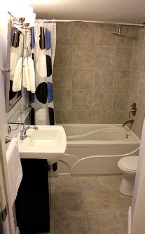 toronto bathroom renovation basement bathroom from scratch