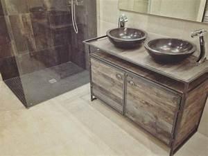 fabriquer un meuble sous vasque meuble sous vasque wedi With ordinary meuble sous lavabo avec pied 4 comment fabriquer un meuble vasque avec plan de travail