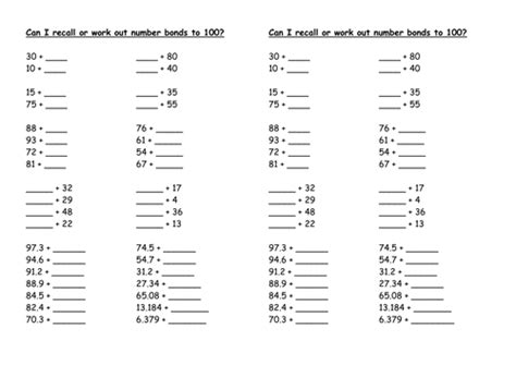 number worksheets ks1 and ks2 by marklysons teaching resources tes