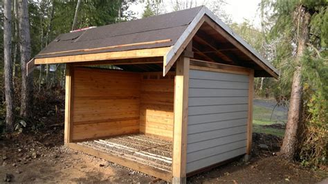 build wood shed youtube shed  covered porch plans