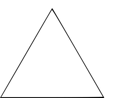 jeux gratuit cuisine fille coloriage triangle à imprimer
