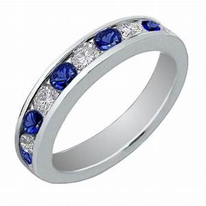 blue engagement ring wedding band best 28 images 73 With blue wedding ring