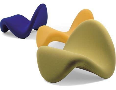 Designer Lounge Chair Pierre Paulin Tongue Chair Hivemodern Com