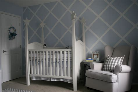 conevers charming baby blue  gray nursery project