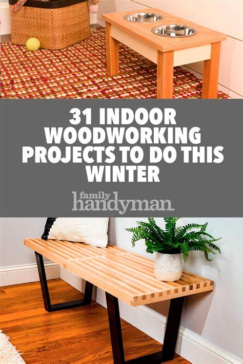 indoor woodworking projects    winter