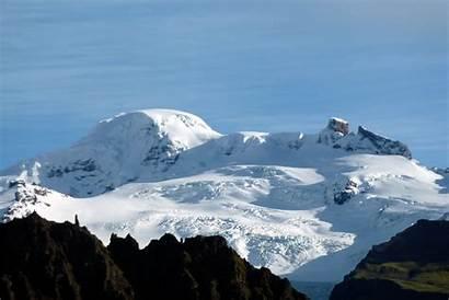 Iceland Park National Vatnajokull Volcano Highest Mountains