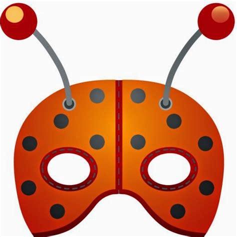 ladybug  printable mask   fiesta  english