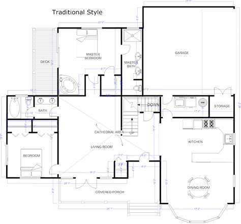 floor plan maker floor plan maker draw floor plans with floor plan templates