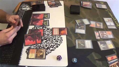 mtg deck wins modern modern magic deck wins vs izzet splinter