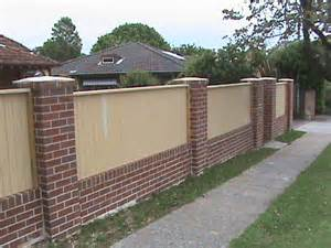 house designes brick fences ace of blades sydney nsw