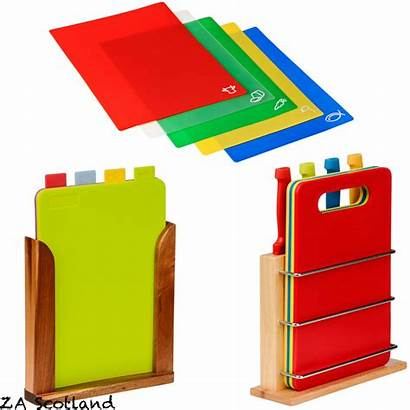 Chopping Boards Colour Kitchen Coded Coloured Wooden