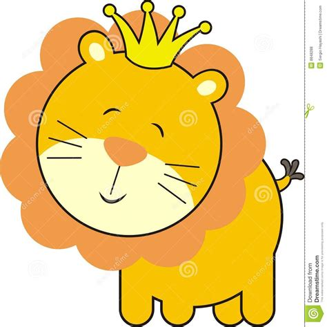 baby shower lion clipart