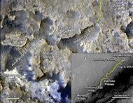 Mars Curiosity Rover Map