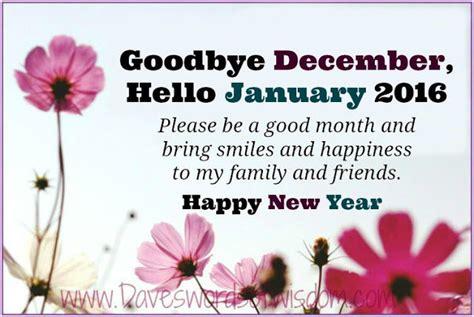 goodbye december  january happy  year pictures