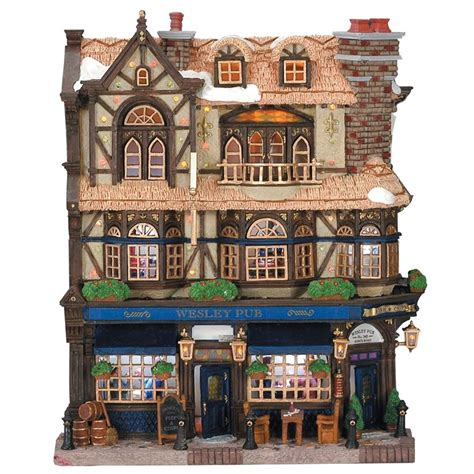 lemax wesley pub facade 45099 163 44 19 from lemax