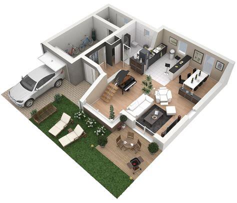 pool home plans plans 3d d appartements studios maisons plus immo