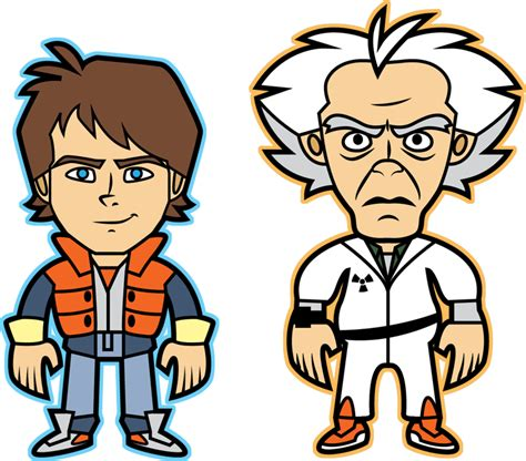 back to the future clipart back to the past to get to the future by disfiguredstick New