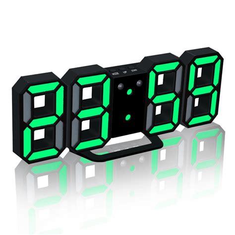 Wanduhren Digital by Neue Moderne Wanduhr 3d Led Digital Wanduhr Wanduhr Uhr