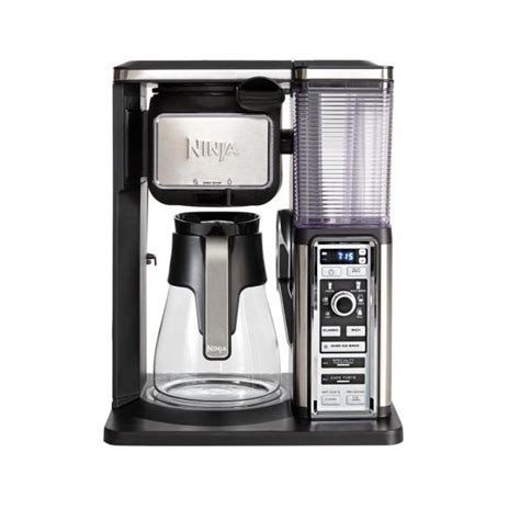 But if your coffee bar keeps shutting off before you can brew a whole cup or pot of fresh coffee, you'll need a handy troubleshooting guide. Ninja Coffee Bar Glass Carafe System CF091 - The Home Depot