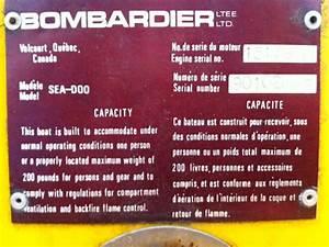 Sea Doo Engine Serial Number Location