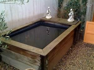 Bassin Exterieur Preforme : bassin en bois exterieur id es de ~ Premium-room.com Idées de Décoration