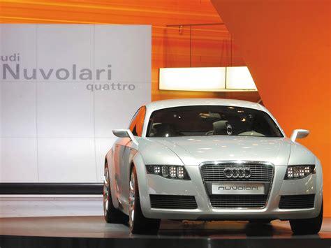 2003 Audi Nuvolari Quattro Concept Front Show