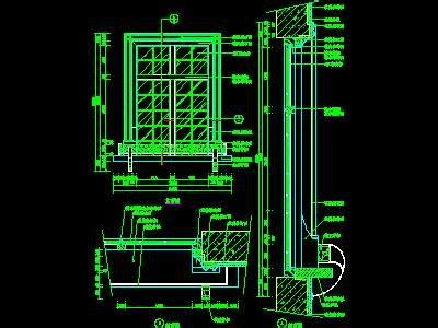 window cad detail  cad autocad blocks