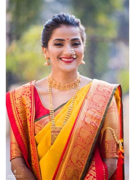 marathi bridal dresses urban gems