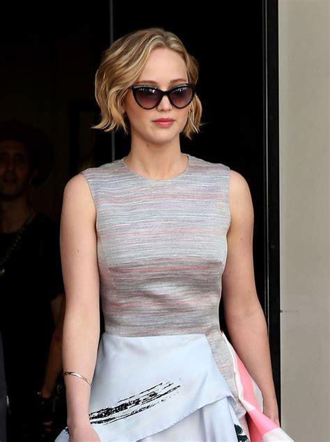 Jennifer Lawrence Arriving At The Cannes Film Festival