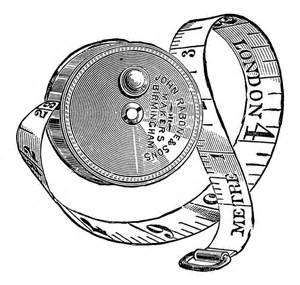 Tape-Measure Clip Art Black and White