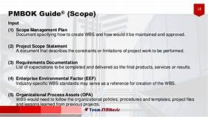 Project Management Body Of Knowledge  Scope