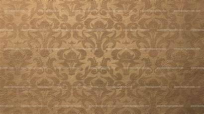 Texture Brown Pattern Leather Damask Background Paper
