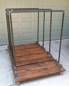 resultado de imagem  shop shelf diy wood steel