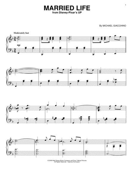 Where the streets have no. Download Married Life Sheet Music By Michael Giacchino - Sheet Music Plus