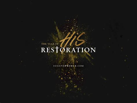 josephprincecom  year   restoration